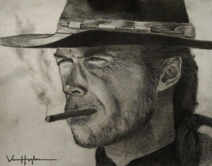 Clint Eastwood by Vannagain